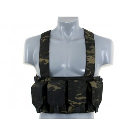 Colete Chest Rig Multicam Preto