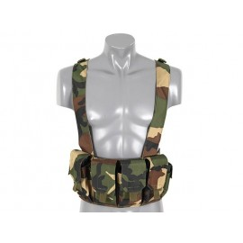Colete Chest Rig Woodland