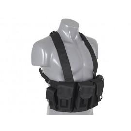 Black Chest Rig Vest