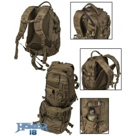Mochila Mission Pack Larga Dark Coyote