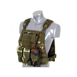 Colete Plate Carrier Woodland