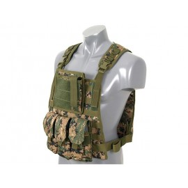 Colete Plate Carrier Woodland Digital
