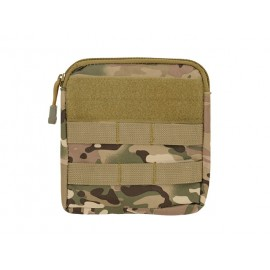 Zippered Pouch MOLLE Multicam