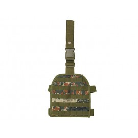 Flecktarn Drop Leg MOLLE Panel