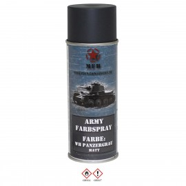 Army Spray Matte Tank Grey