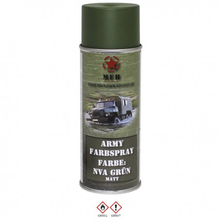 Army Spray NVA Green
