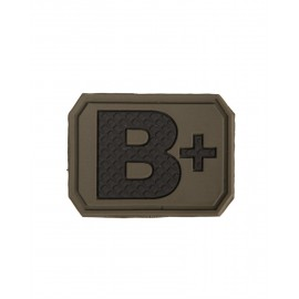 Patch PVC B Positive Olive