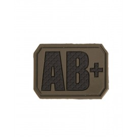 Patch PVC AB Positive Olive
