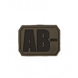 Patch PVC AB Negative Olive