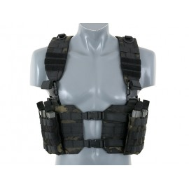 Colete Chest Harness Multicam Preto