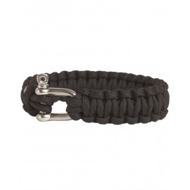 Parachord Bracelet 15mm Black