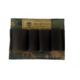 Digital Woodland Velcro Pouch for Cartridge