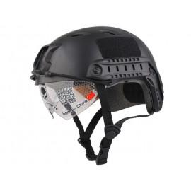 FAST Helmet Black with Google