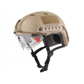 FAST Helmet TAN with Google
