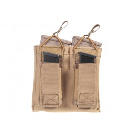 Combo Mag 5.56/9mm Double Pouch Coyote