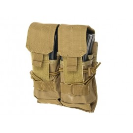 Double Pouch for 4 Mag M4 Coyote