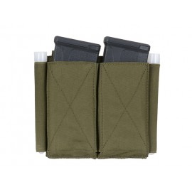 5.56 Double Elastic Mag Pouch Olive