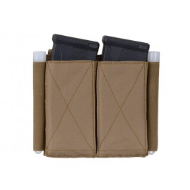5.56 Double Elastic Mag Pouch Coyote