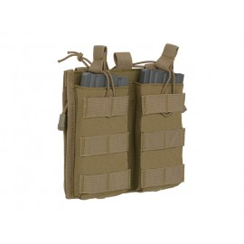 5.56 Double Mag/Admin Pouch Coyote