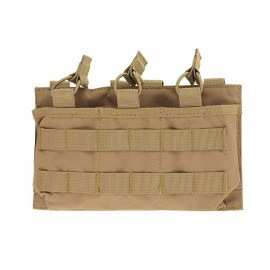 Triple Mag 7.62/.308 Open Top Pouch Coyote