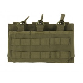 Triple Mag 7.62/.308 Open Top Pouch Olive