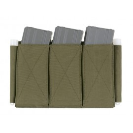5.56 Triple Elastic Mag Pouch Olive