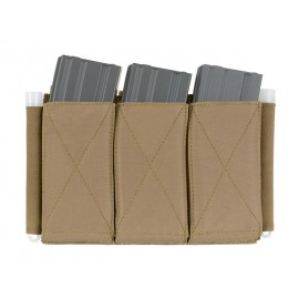 5.56 Triple Elastic Mag Pouch Coyote