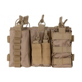 Easy Access Triple M4 Mag Pouch Coyote