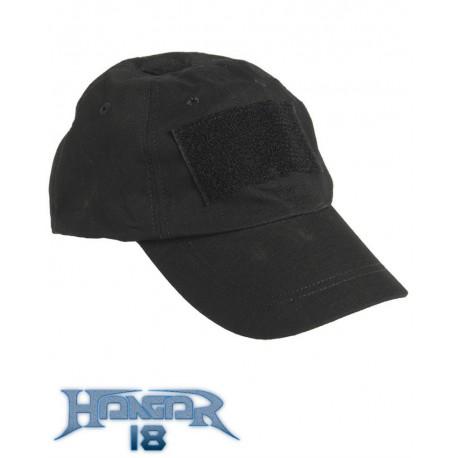 Black Tactical Cap - Hangar18 529a449945fc