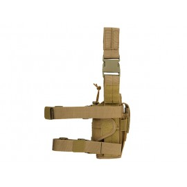 Universal Holster Leg/Belt Left-Handed Coyote