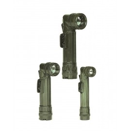 US OD Medium Anglehead Flashlight