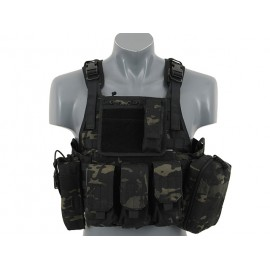 Colete Plate Carrier Cummerbund Multicam Black