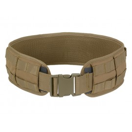 Padded MOLLE Combat Belt Coyote
