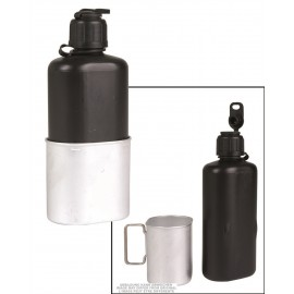 Swiss M84 Plastic Canteen w/ Cup Used