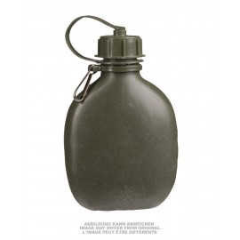 Finnish OD Plastic Canteen0,7L Used