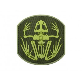 Patch PVC Frog Green
