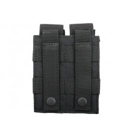 Double Mag Pistola Pouch Black