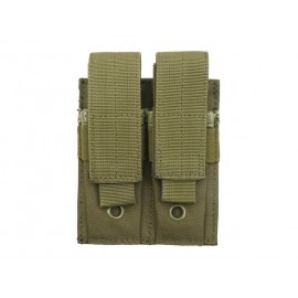 Double Mag Pistola Pouch Olive