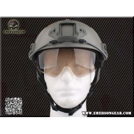 Protective Lens for Emerson Helmet Dark