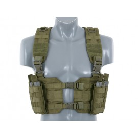 Olive Split Front Chest Harness