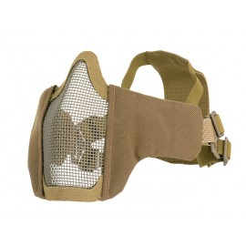 PDW Steel Half Face Mask Coyote