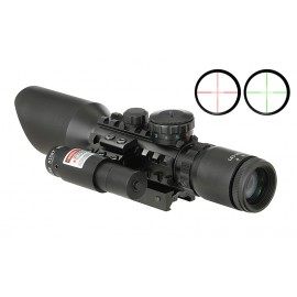 Scope 3-9x40E w/ Laser
