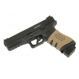 Black Rubber Grip Sleeve for Glock