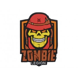 Patch PVC Zombie Legion Red