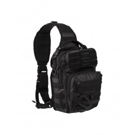 Tactical Black One Strap Assault Pack Smal