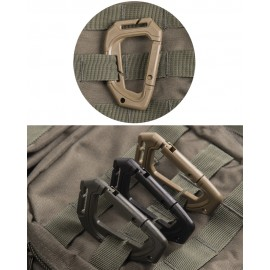 Coyote Tactical Karabiner MOLLE x2
