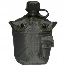 US 1L Plastic Bottle w/ Olive Cover