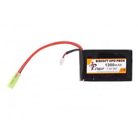 Battery Li-Po 1300mAh 7.4V 20C