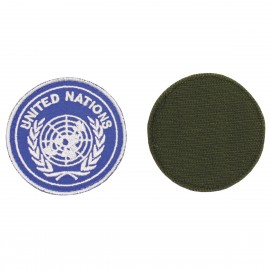 """""""UNITED NATIONS"""" Embroidered Patch Used"""