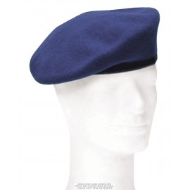 German Cobalt Blue Beret Used